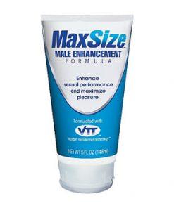 MaxSize crema para alargar el pene