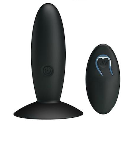 Plug Anal Vibrador Recargable